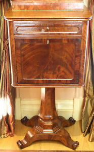 MAGNIFICENT-19C-FRENCH-COMMODE-STAND-WITH-A-DRAWER