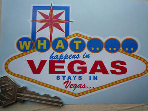What Happens in Vegas Stays in Vegas Custom Car Sticker | eBayWhat Happens In Vegas Sign