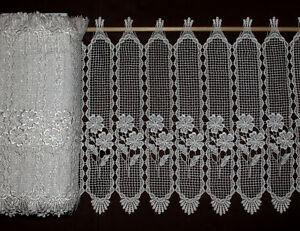 Meterware Gardinen Plauener Spitze/ Macramée Typ107 | eBay