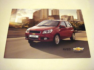 Chevrolet . Aveo . 2010 Sales Brochure