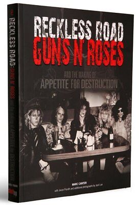 Guns N Roses Making Of Appetite For Destruction Signed Book Reckless Road Rare