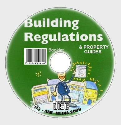 FULL OFFICIAL LATEST UK BUILDING  REGULATIONS CD REGS