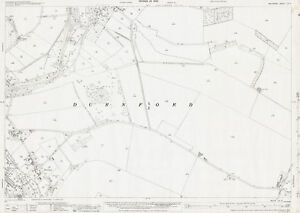 Woodford-E-Durnford-S-1939-Wiltshire-old-OS-map-repro-60-11