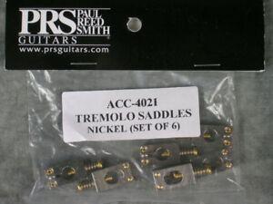 PRS ACC-4021 TREMOLO NICKEL GUITAR SADDLES PARTS CUSTOM CE PAUL REED SMITH