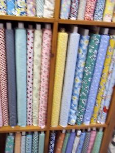 40 DIFF 1/4 YD PCS 1930's REPRODUCTION FABRIC $1.00 EA