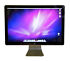 "Apple Cinema LED Cinema Display 24"" Widescreen LCD Monitor with built-in speakers"