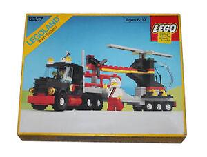 Nouveau LEGO Ville Classique 6357 Stunt Hélicoptère N  camion LEGOLAND Scellé  les magasins de détail