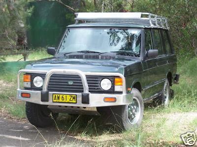 Classic Land Rover Range Rover