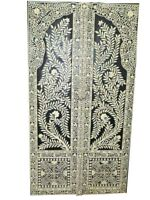 Antique Wooden Carved Teak Door Panel