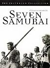 Seven Samurai (DVD, 1998, Criterion Collection) (DVD, 1998)