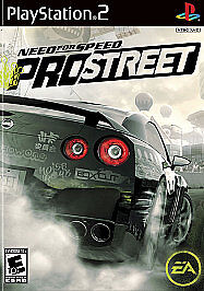 Need for Speed: ProStreet (Sony PlayStation 2, 2007) - PS2