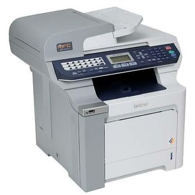 Brother mfc-9840cdw scan to