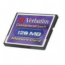 128MB CompactFlash Camera Memory Cards