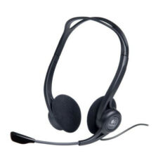 Double Earpiece USB Computer Headsets