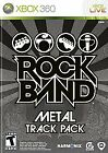 Rock Band: Metal Track Pack (Microsoft Xbox 360, 2009)