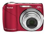 Kodak EASYSHARE C190 12.3 MP Digital Camera - Red