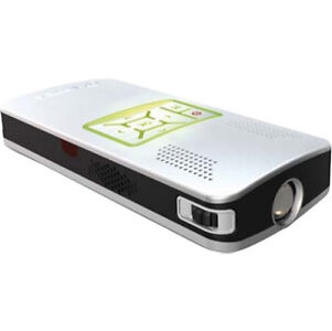 AIPTEK PocketCinema V10 Plus LCoS Projektor Taschen Beamer Mini