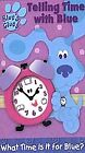 Blue's Clues - Telling Time With Blue (VHS, 2002) (VHS, 2002)