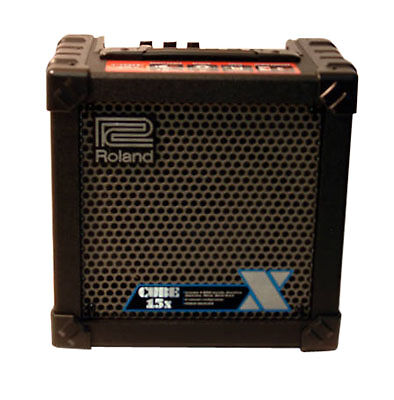 roland cube 15x 15 watt guitar amp for sale online ebay. Black Bedroom Furniture Sets. Home Design Ideas