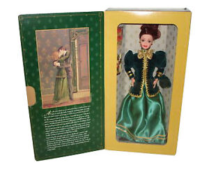 Yuletide-Romance-1996-Barbie-Doll-New-In-Box