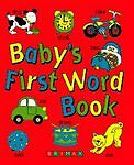"""VERY GOOD"" Baby's First Word Book, , Book"