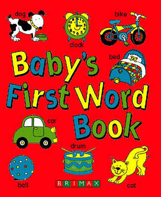 Baby's First Word Book, , Very Good Book