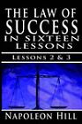 The Law of Success, Volume II & III  : A Definite Chief Aim & Self Confidence by Napoleon Hill (Paperback / softback, 2006)