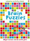Brain Puzzles: Puzzle Cards by Sarah Khan (Novelty book, 2011)