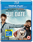 Due Date (Blu-ray and DVD Combo, 2011, 2-Disc Set)