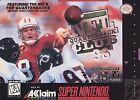 NFL Quarterback Club 96 Nintendo Video Games
