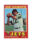 Topps New York Jets Vintage (Pre-1970) Football Cards