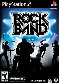 Rock-Band-Sony-PlayStation-2-2007-COMPLETE-FREE-SHIPPING
