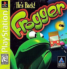 PS1-PLAYSTATION-1-HES-BACK-FROGGER-VIDEO-GAME-COMPLETE