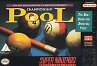 Championship Pool Nintendo NES 1993 Video Games