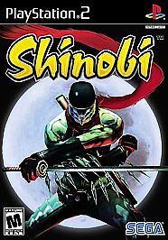 NEW-PS2-SHINOBI-SEALED