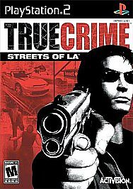 True-Crime-Streets-of-L-A-Sony-PlayStation-2-2003-Complete-Fast-Shippin-PS2