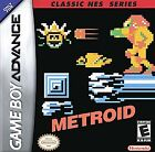 Metroid Classic NES Series (Nintendo Game Boy Advance, 2004)