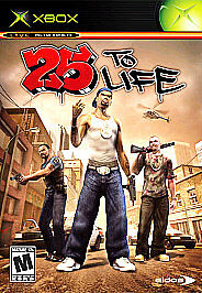 New 25 to Life Xbox Video Game