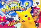 Hey You, Pikachu (Nintendo 64, 2000)