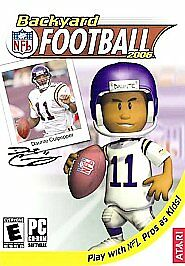 BACKYARD FOOTBALL 2006 Play with the pros as kids New in ...