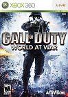 Call of Duty: World at War (Xbox 360, 2008)