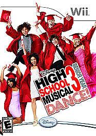High School Musical 3: Senior Year Dance (Nintendo Wii, 2008)M
