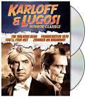 Karloff  Lugosi Horror Classics (DVD, 2009, 2-Disc Set)