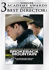 Brokeback Mountain (DVD, 2006, Full Frame)