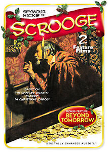 SCROOGE (1935) & BEYOND TOMORROW (1940) -2004 VG/C DVD~DOUBLE FEATURE