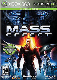 Mass Effect -- Platinum Hits Microsoft Xbox 360, 2009  - $2.50