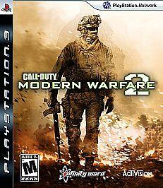Call Of Duty Modern Warfare 2 PlayStation 3, 2009  - $4.99