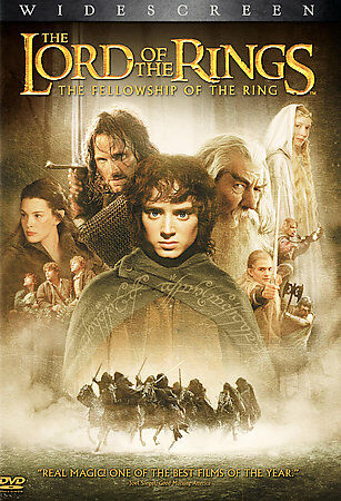 The Lord of the Rings The Fellowship of the Ring DVD, 2002, 2-Disc, Widescreen