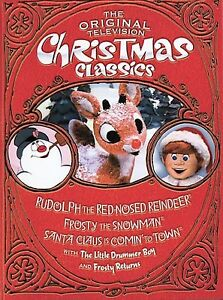 the original television christmas classics rudolph the red nosed reindeerfrosty the snowmansanta claus is coming to town dvd 2004 - The Original Christmas Classics