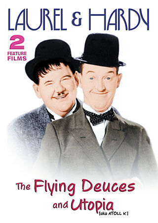 LAUREL AND HARDY - FLYING DEUCES, THE/ UTOPIA NEW DVD 2003 Sealed BRAND NEW